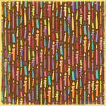 K and Company - Confetti Collection - 12 x 12 Paper - Candles
