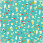K and Company - Confetti Collection - 12 x 12 Paper - Cheers, CLEARANCE