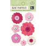 K and Company - Valentine Collection - Mini Accents - Stitched