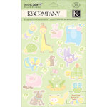 K and Company - Animal Tales Collection - Pillow Stickers - Animal