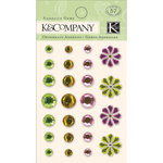 K and Company - Spring Blossom Collection - Adhesive Gems