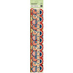 K and Company - Americana Collection - Adhesive Paper Borders with Foil Accents, CLEARANCE