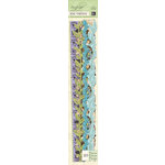 K and Company - Botanical Collection - Adhesive Borders with Foil Accents