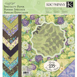 K and Company - Botanical Collection - 12 x 12 Specialty Paper Pad