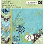 K and Company - Botanical Collection - 12 x 12 Designer Paper Pad