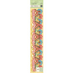 K and Company - Nature Collection - Adhesive Borders with Glitter Accents - Icon