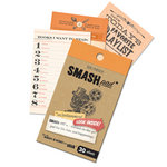 K and Company - SMASH Collection - Journaling Tag Pad - Entertainment