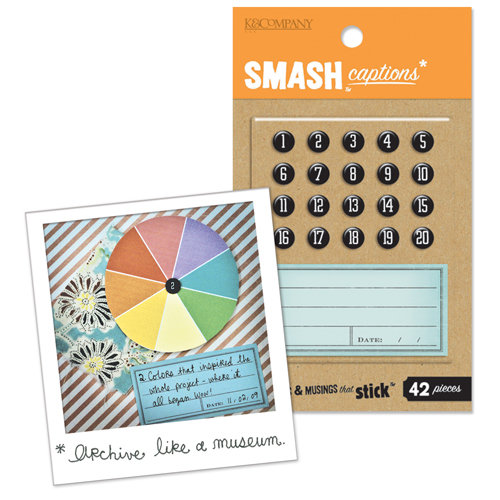 K and Company - SMASH Collection - Captions