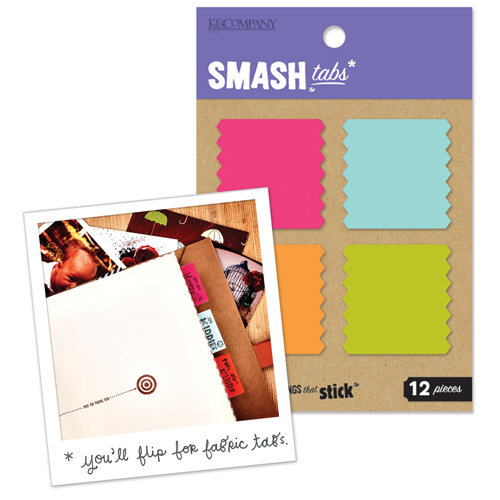 K and Company - SMASH Collection - Page Tabs - Fabric