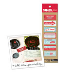 K and Company - SMASH Collection - Stickies - Red and Blue Stickers