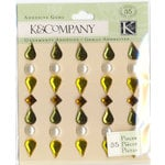 K and Company - Nature Collection - Adhesive Gems