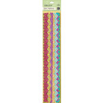 K and Company - Abrianna Collection - Adhesive Borders with Glitter Accents - Specialty