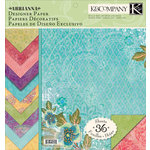 K and Company - Abrianna Collection - 12 x 12 Designer Paper Pad