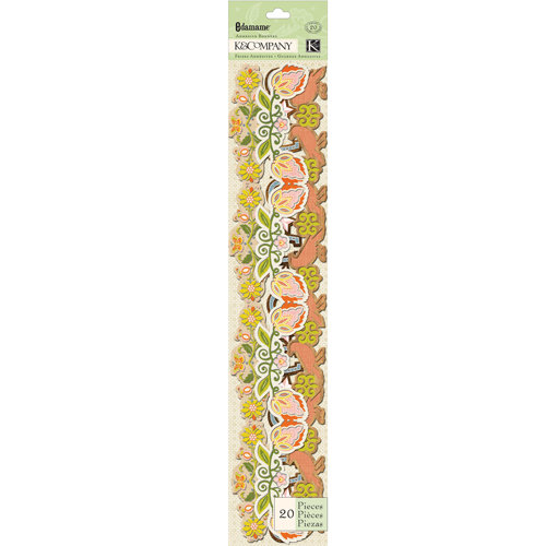 K and Company - Edamame Collection - Adhesive Borders
