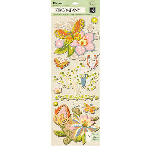 K and Company - Edamame Collection - Adhesive Chipboard - Icon