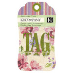 K and Company - Watercolor Bouquet Collection - Tag Pad