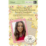 K and Company - Watercolor Bouquet Collection - Die Cut Mat Paper Pad