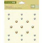 K and Company - Studio 112 Collection - Adhesive Gems - Metallic