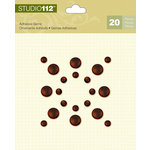 K and Company - Studio 112 Collection - Adhesive Gems - Bronze