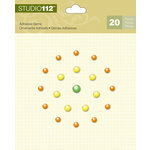 K and Company - Studio 112 Collection - Adhesive Gems - Multi Pearl