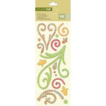 K and Company - Studio 112 Collection - Epoxy Stickers - Swirls