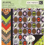 K and Company - Ghostly Greetings Collection - Halloween - 12 x 12 Specialty Paper Pad