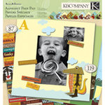 K and Company - Actopus to Zelephant Collection - 12 x 12 Alphabet Page Pad