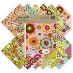 K and Company - Greenhouse Collection - 8.5 x 8.5 Designer Paper Pad