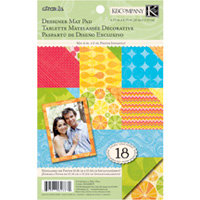 K and Company - Citronella Collection - Designer Mat Pad