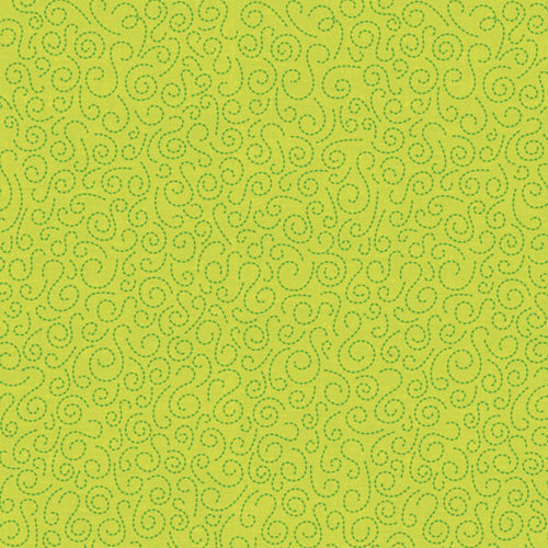 K and Company - Ghostly Greetings Collection - Halloween - 12 x 12 Glitter Paper - Green Swirl