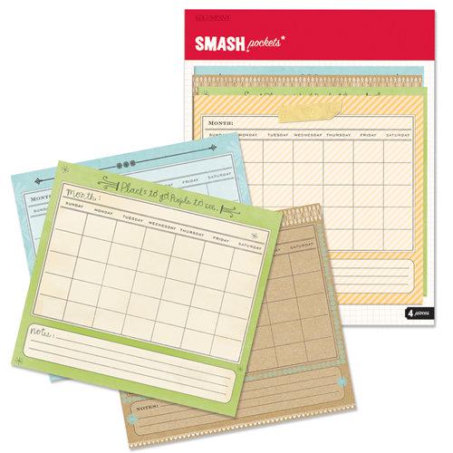 K and Company - SMASH Collection - Pockets - Calendar