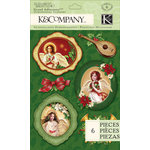 K and Company - Visions of Christmas Collection - Grand Adhesions - Angel