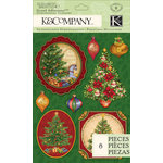 K and Company - Visions of Christmas Collection - Grand Adhesions - Christmas Tree