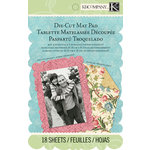 K and Company - Merryweather Collection - Die Cut Mat Paper Pad