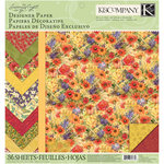 K and Company - Meadow Collection - 12 x 12 Designer Paper Pad