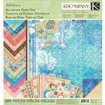 K and Company - Julianne Vintage Collection - 12 x 12 All-In-One Scrap Pad