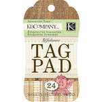 K and Company - Julianne Vintage Collection - Tag Pad