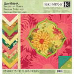K and Company - Sweet Nectar Collection - 12 x 12 Specialty Paper Pad - Mod