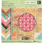 K and Company - Julianne Vintage Collection - 12 x 12 Specialty Paper Pad