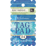 K and Company - Julianne Vintage Collection - Ornate Tag Pad