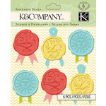K and Company - Beyond Postmarks Collection - Wax Envelope Seals