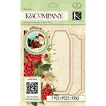 K and Company - Beyond Postmarks Collection - 3 Dimensional Pop-Ups - Botanical