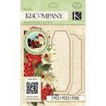 K and Company - Beyond Postmarks Collection - 3 Dimensional Pop-Ups - Botanical