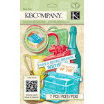 K and Company - Beyond Postmarks Collection - 3 Dimensional Pop-Ups - Letterpress