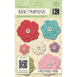 K and Company - Beyond Postmarks Collection - Paper Flowers