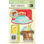 K and Company - Beyond Postmarks Collection - Letterpress Sliders