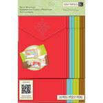 K and Company - Beyond Postmarks Collection - Cards and Envelopes - Letterpress Self Mailers