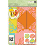 K and Company - Beyond Postmarks Collection - Folded Cards and Envelopes - Letterpress