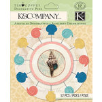 K and Company - Travel Collection - Decorative Pins