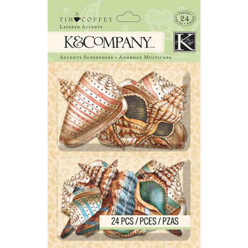 K and Company - Travel Collection - Layered Accents - Shell